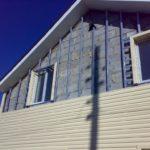 Для дома из бетонных блоков гидроизоляция под сайдинг не нужна